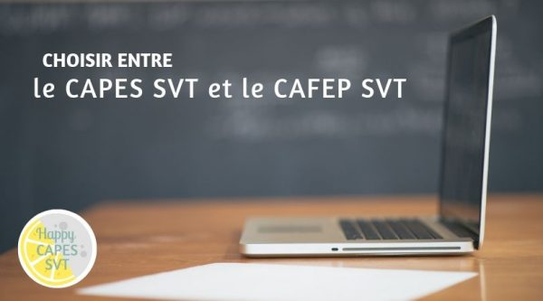 CAPES SVT ou CAFEP SVT