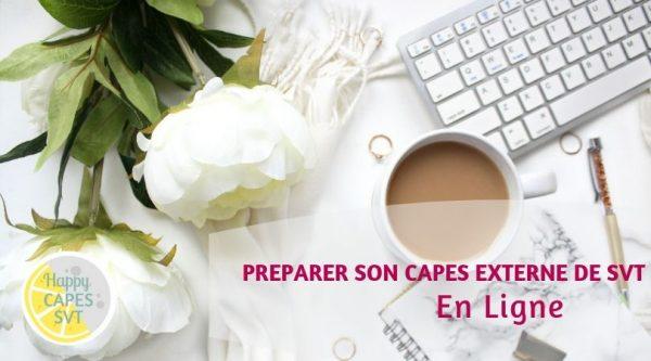 Préparer le CAPES de SVT en ligne